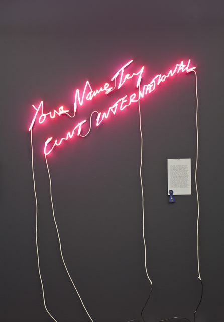 , 'Your Name Try CUNT	 INTERNATIONAL,' 2004, ICA Philadelphia