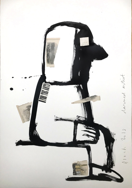 , 'Darned Artist,' 2018, Michele Mariaud Gallery