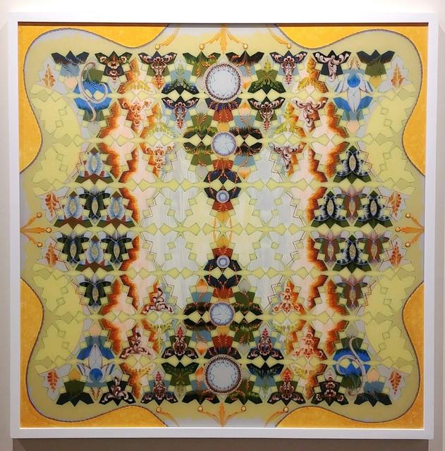 Tara Austin, 'Stemline', 2018, Painting, Acrylic and gold leaf on plexiglass, Joseph Nease Gallery