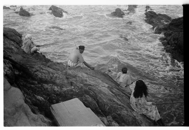 , 'Fishing, Chendering,' ca. 1952, Sultan Ismail Photograph Editions