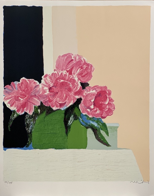 Roger Muhl, 'Pivoines', 1989, Print, Limited edition French lithograph, Artioli Findlay