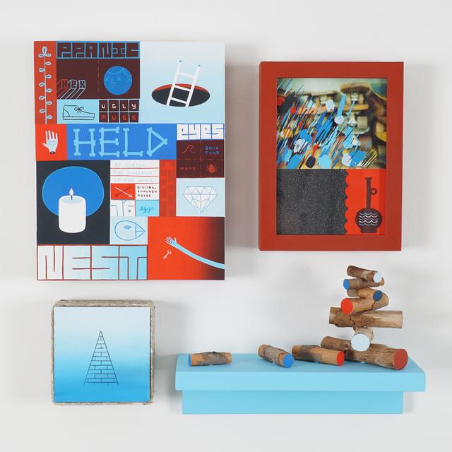 , 'Ugly Mugs,' 2015, Jonathan LeVine Projects