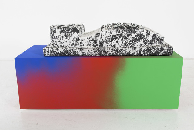 , 'Untitled (Cast big boot),' 2015, Nina Johnson