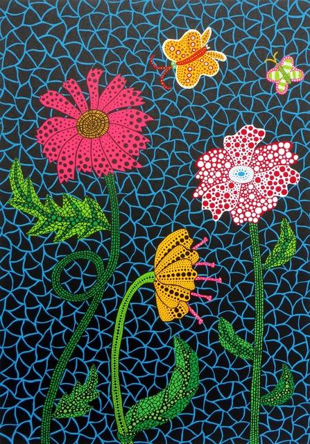 Yayoi Kusama, 'Flowers', 2002, Vogtle Contemporary
