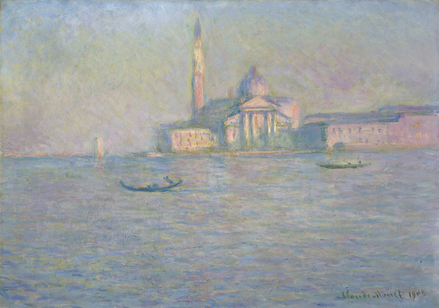 Claude Monet, 'The Church of San Giorgio Maggiore, Venice,' 1908, Indianapolis Museum of Art at Newfields