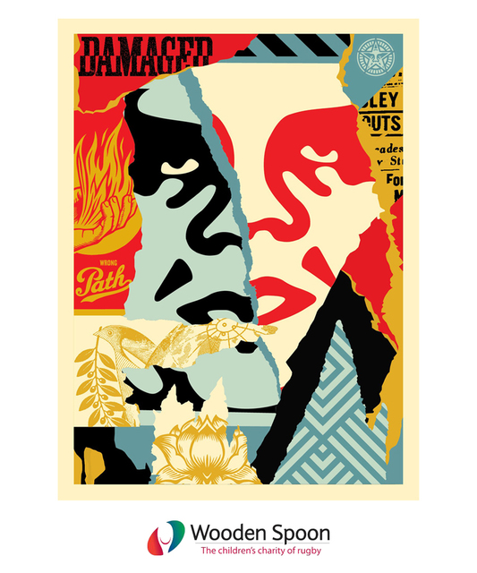Shepard Fairey, 'Damaged Icon', 2018, Lougher Contemporary Gallery Auction