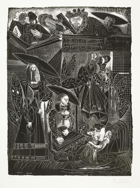 Pablo Picasso, 'DAVID ET BETHSABÉE (after Lucas Cranach)', 1949, Christopher-Clark Fine Art