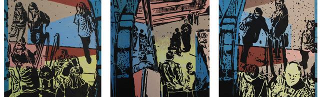 , 'Three Views of Passage,' 2012, Walter Wickiser Gallery