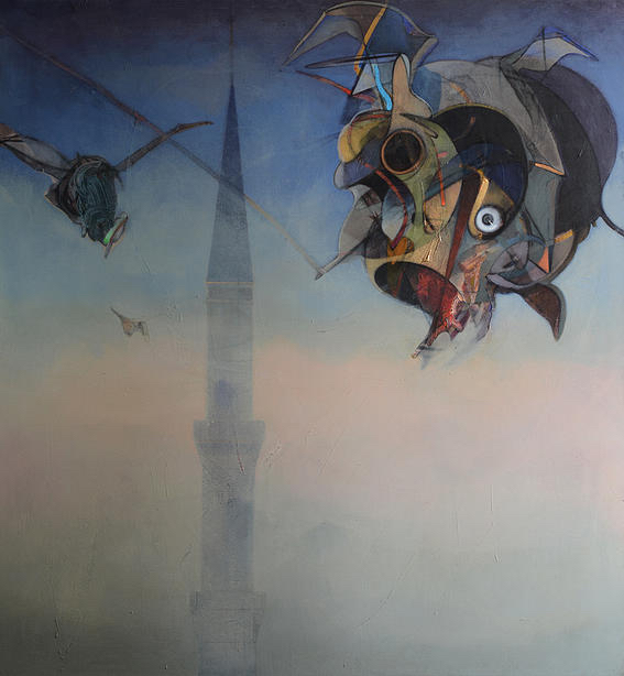 , 'Sultanahmet,' 2014, Hafez Gallery