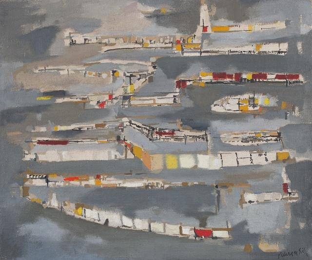 , 'La Ville Haute,' 1952, Paulo Kuczynski Escritório de Arte