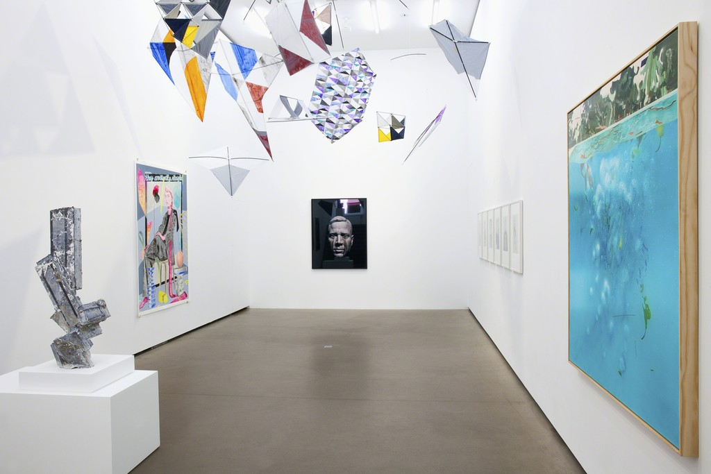 Exhibition view, 2018, Galerie EIGEN + ART Berlin, Photo: Otto Felber, Berlin