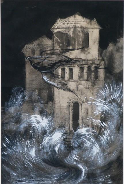 , 'En esta casa,' 1957, Galeria Oscar Roman