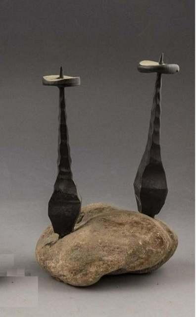 David Palombo, 'Untitled', c.1950s, Sculpture, Iron, Stone, Lions Gallery