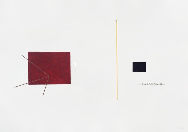 , 'Caravagio,' 2015, Mul.ti.plo Espaço Arte