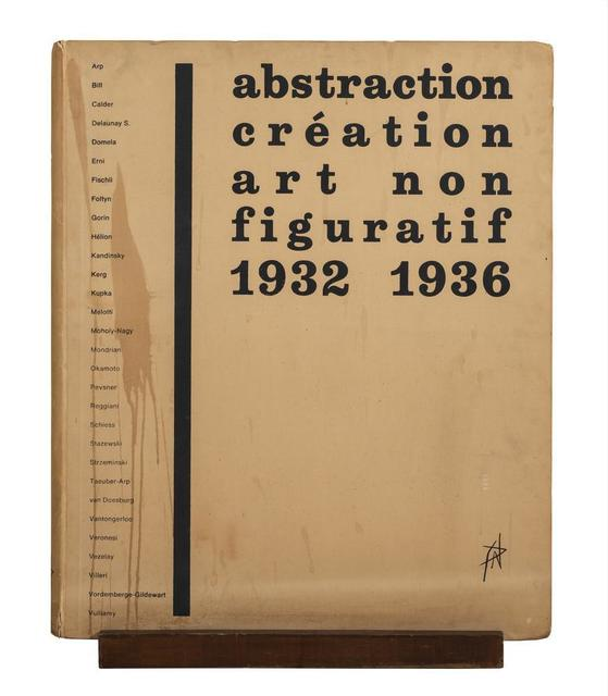 'Abstraction Création Art Non Figuratif 1932 - 1936', 1973, Itineris