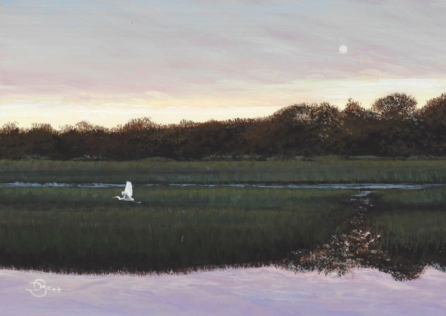 , 'Flying Home,' , Copley Society of Art