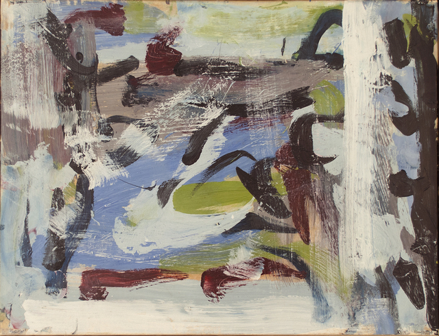 , 'Untitled Composition,' 1958, Canadian Fine Arts