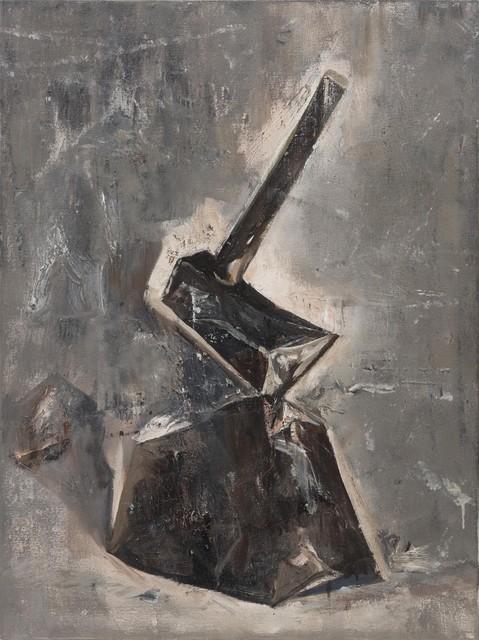 , 'Stone and Axe,' 2016, Arario Gallery