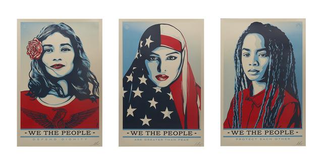 Shepard Fairey, 'We the People', 2017, Rago