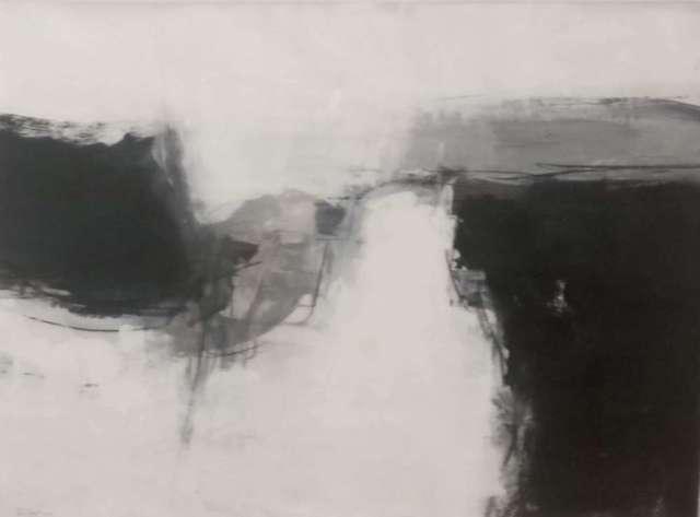 Boo Mallinson, 'Black and White Landscape No 2', 2018, Lime Tree Gallery