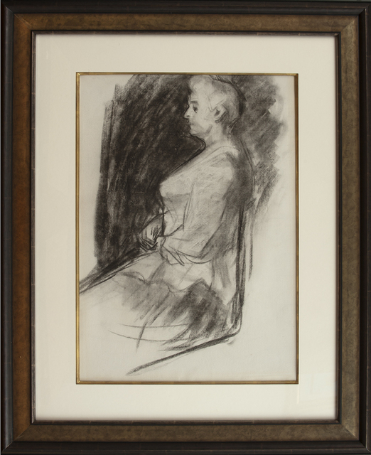 , 'Elizabeth Griffiths Smith Hopper (Edward Hopper's Mother),' ca. 1900, Thurston Royce Gallery of Fine Art, LTD.