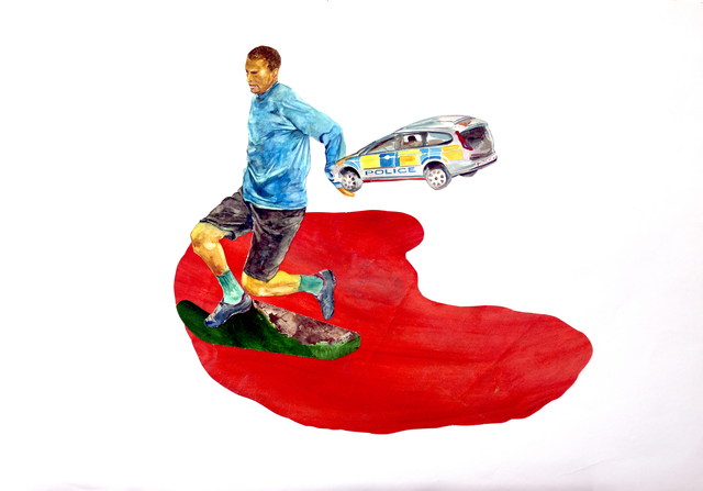 , 'The Police,' 2011, Deborah Colton Gallery