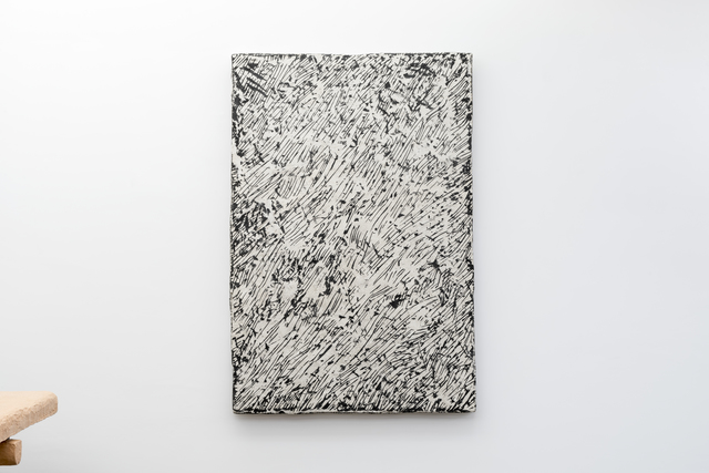 , 'Black Lines, relief,' 2016, Chamber