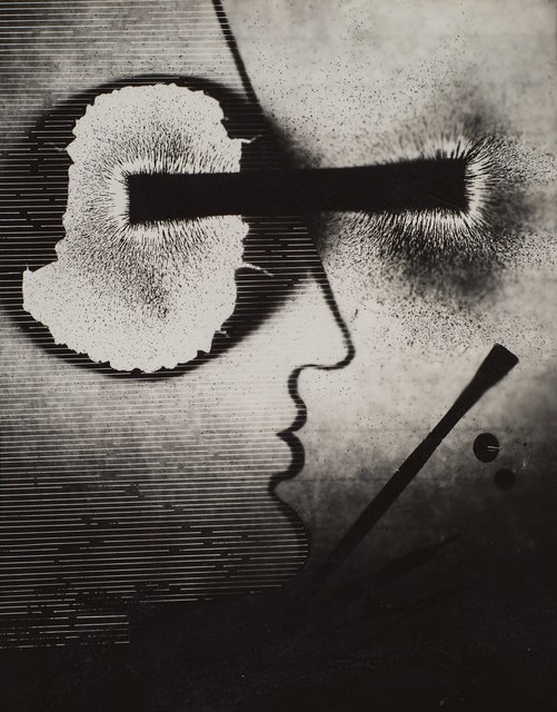 Gyorgy Kepes, 'Untitled (Magnetic fields, compass, dark)', 1939, Robert Koch Gallery