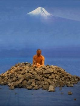 He Yunchang 何云昌, 'Dream Journey - From Fukuoka Asian Art Musuem to Mount Fuji 卧游—从福冈美术馆到富士山', 2009, Ink Studio