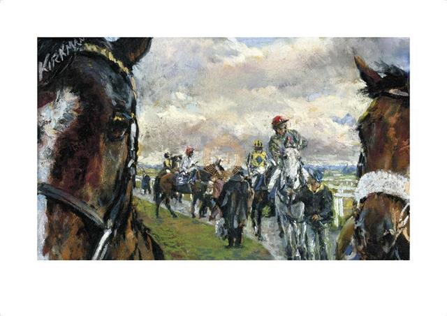 Jay Kirkman, ''After The Bell' Newcastle Races', 21st Century, Print, Gouttelette Print on Paper, S&P