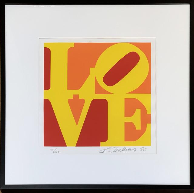 , 'LOVE - Yellow, Orange,  Red, 1996,' 1996, Fairhead Fine Art Limited