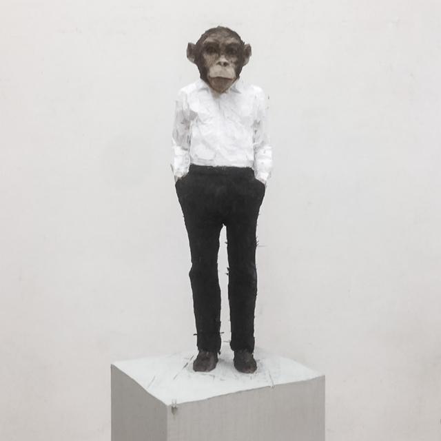 , 'Man with monkey head,' 2016, Mai 36 Galerie