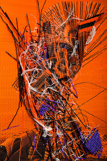 , 'Orange Deconstruction #3,' 2017, Viasaterna