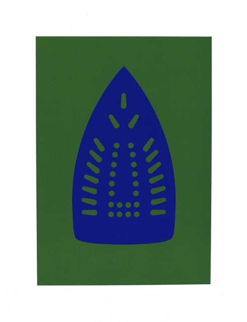 Willie Cole, 'Complementary Soles (Blue/Green)', 2012, Highpoint Editions
