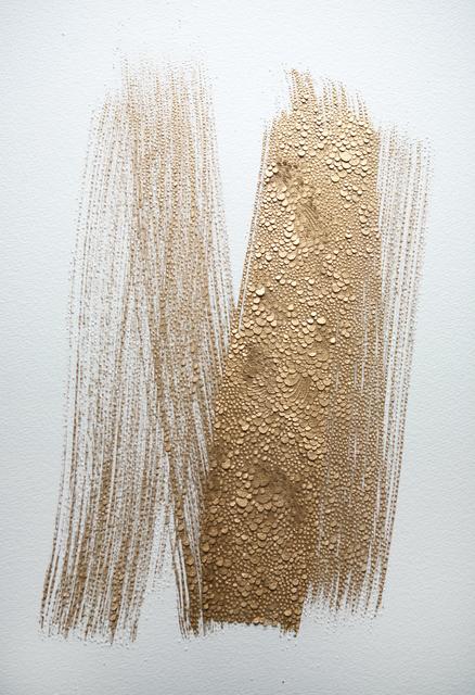 ", '""Untitled gold"",' 2017, Galerie Dutko"
