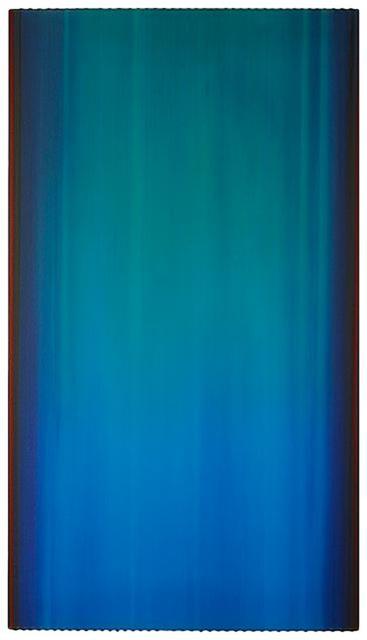 Gregg Renfrow, 'Aqua & Deep Red', 2007, Nancy Toomey Fine Art