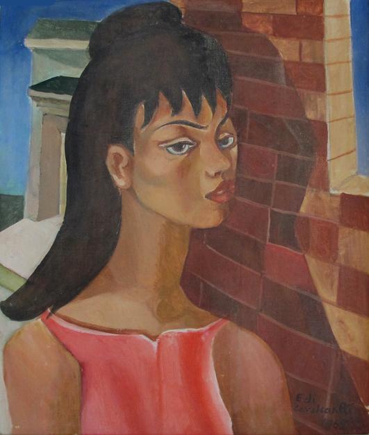 , 'Mulata,' 1969, Hilda Araújo Escritório de Arte