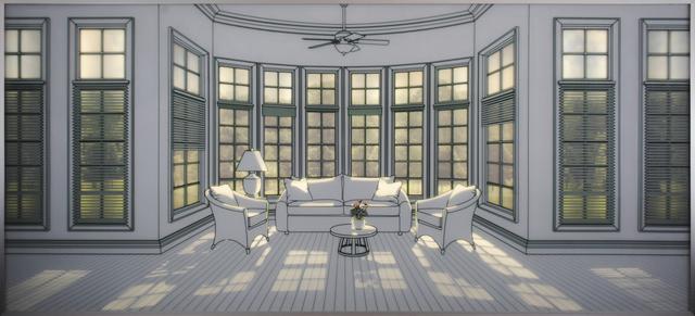 , 'The Sunshine Room I,' 2017, Pontone Gallery