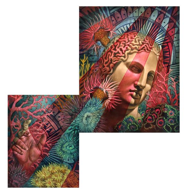 , 'Coral Goddess (diptych),' , GGA GALLERY