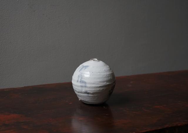 , '粉引丸 S, Round Jar S (Kohiki-Style) 18015,' 2017, Kamiya Art
