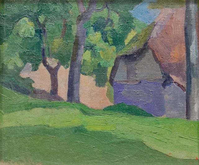 , 'Study of Dunn's Cottage, Applehayes, Somerset,' 1915, Jenna Burlingham Fine Art