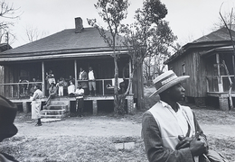 , 'Man With Freedom Hat,' ca. Alabama 1965, Johannes Faber