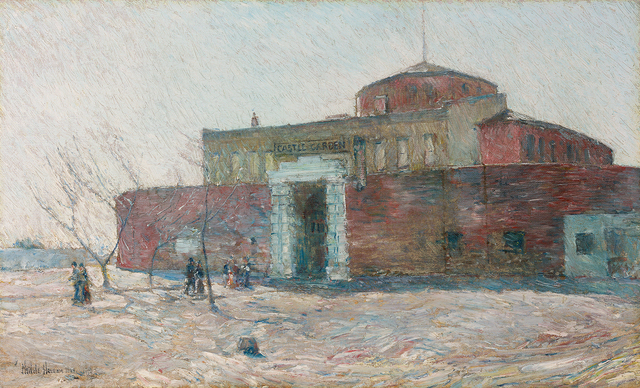, 'Castle Garden,' 1894, Questroyal Fine Art