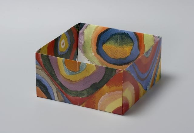 Pierre Bismuth, 'Origami boxes: one thing made of another, one thing used as another (Wassilij Kandinsky)', 2004, Christine König Galerie