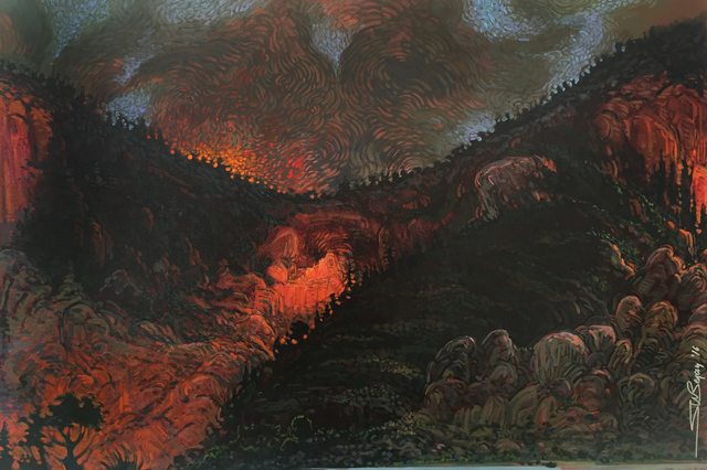 , 'Rincon Inferno,' 2016, Modern West Fine Art