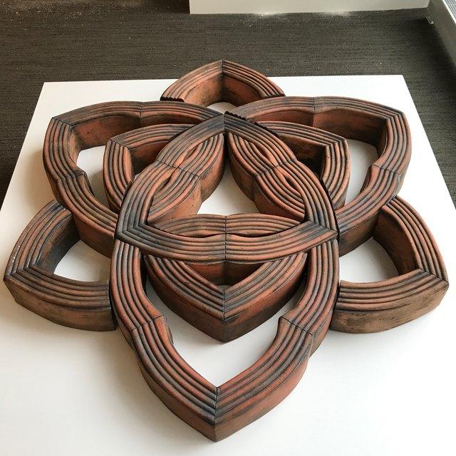 , 'Cathedral Labyrinth I,' 2001, InLiquid