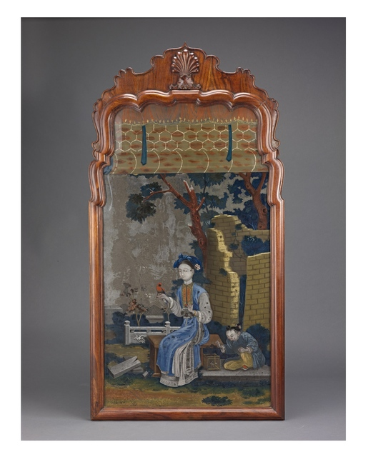 Unknown Artist, 'Framed Reverse Painting on Glass', 19th century, Liang Yi Museum