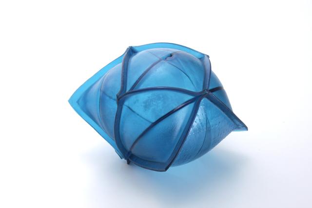 , ' Matthew Szösz, untitled (inflatable) no. 70b, 2017, glass ,' 2017, form & concept