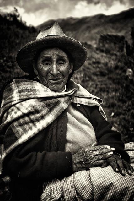 , 'Quechuan Woman,' 2015, Hilton Asmus