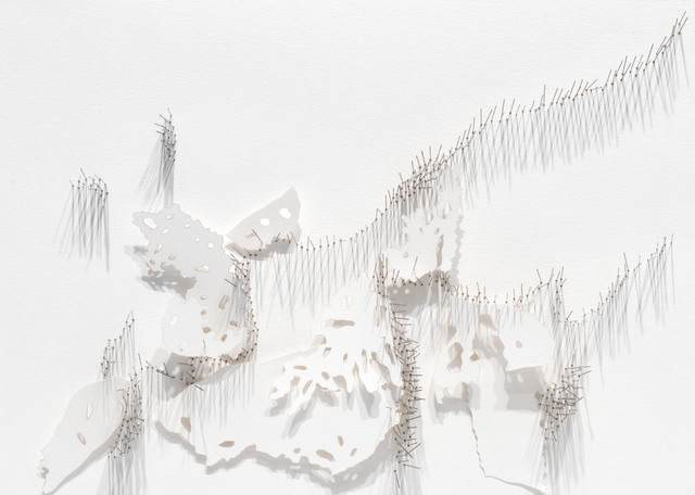, 'Frontière 3,' 2017, L'Atelier 21